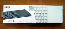 Brand Rapoo E6700 Bluetooth Touch keyboard 56mm Slim Design Support W8/RT