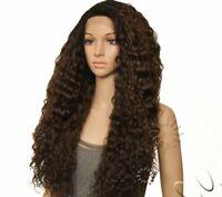 Equal Deep Invisible L Part Long Lace Front Wave Wig Flexi Curl Braids