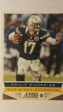 NFL Trading Card Philip Rivers San Diego Chargers Score 2013 Panini