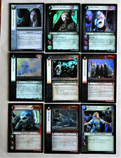 Lord of the Rings CCG Fellowship of the Ring Foil Cards LotR FotR TCG
