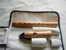 Excellent Moeck Sopran / Descant Recorder, Baroque, Maple