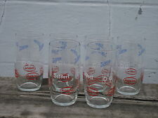 brasserie de Gheest à Alost 6 verres Safdort Safir Parking limonade