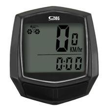 H3E# Bike Computer Waterproof Wired LCD Computer Speedometer Odometer Stopwatch