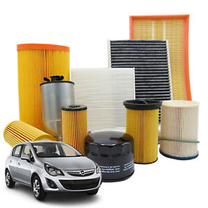 Kit tagliando filtri Opel Corsa D 1.2 1.4 LPG