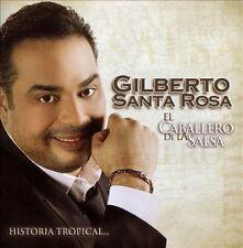 Gilberto Santa Rosa : El Caballero De La Salsa - La Historia T CD