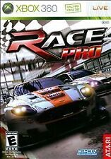 Race Pro (Microsoft Xbox 360, 2009) Complete!