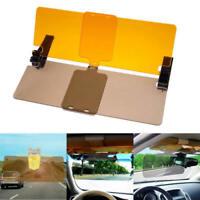1Pc Clip-on Car Day Night Anti-Glare Safty Driving HD Mirror Glass Sun Visor HI