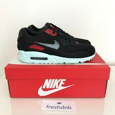 Nike Air Max 90 Premium Vinyl - Black Cool Grey - Size UK 8.5 - US 9.5 - EU 43