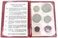 .SCARCE 1971 RAM UNC 6 COIN SET.