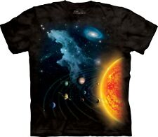 The Mountain Unisex Kinder solar System Space T Shirt X-large 1531263