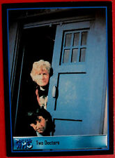 DEFINITIVE DOCTOR WHO Series 3 - Promo Card B-2 - Strictly Ink 2001, Two Doctors