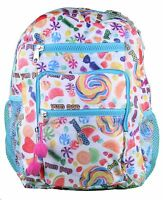 """NEW Girls Youth Kids YPC Yum Pop Candy Candies Scented 13"""" Backpack Schoolbag"""