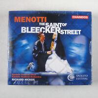 Menotti: The Saint of Bleecker Street (CD, 2 Discs, Chandos) NEW