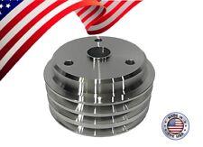 Sbc Small Block Chevy Crank Pulley V Belt 3v 305 327 350 400 Lwp