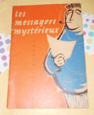 les messagers mysterieux ++ Klett ++ Schulausgabe französisch + Gilles Hersay +