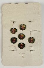 COLLECTION OF 6 PINS BY FC BARCELONA. ORIGINAL BLISTER. METAL ENAMELING. 1974.