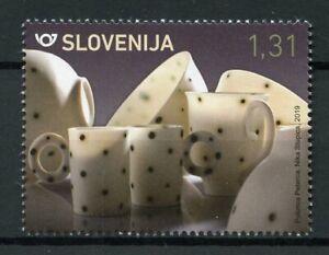 Slovenia 2019 MNH Arts & Crafts Nika Stupica Porcelain 1v Set Art Stamps