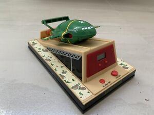 Vintage Wesco Thunderbirds Talking Alarm Clock~Spaceship~Toy~Sci Fi
