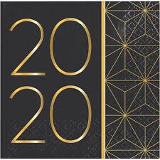 16 x 2020 Party Celebration Paper Beverage Napkin CHEAP BARGAIN SALE CLEARANCE