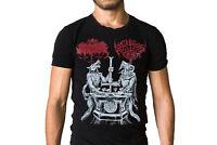 Archgoat Satanic Warmaster Lux Satanae 2015 Logo Album Cover T-Shirt