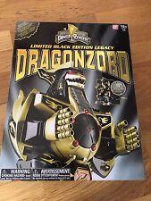 Power Rangers legado Dragonzord Megazord Negro Oro Ltd Edition NUEVO * EN STOCK *