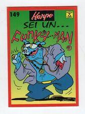 figurina card - HARPO MASTER CARDS  - numero 149