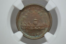 New Listing1863 Civil War Token- F-240/341a- Union For Ever- Ngc Ms-63 Bn. Lovely Coin!