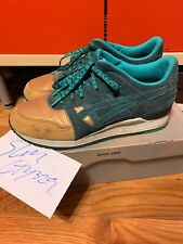 Used Asics Gel Lyte III Three Lies Concepts Gold CNCPTS Kith RF Fieg Sz 10.5