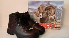 """Rocky MobiLite FQ0006114 Steel Toe EH Waterproof 5"""" Brown Work Boot 6114"""