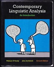 Contemporary Linguistic Analysis: An Introduction (7th Edition)