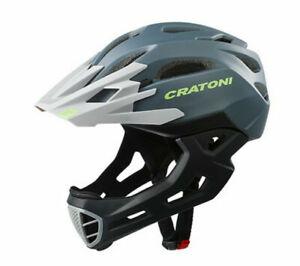 Cratoni MTB Downhill BMX Fahrradhelm C-Maniac 2.0 MX black-white