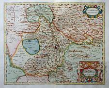 ITALIEN UMBRIEN PERUGIA ITALIA TERRITORIO PERUGINO UMBRIA MAGINI MAPPA 1620