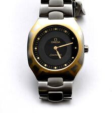 Omega Seamaster Polaris steel mans' 32mm quartz watch new pristine unworn