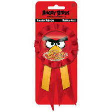 ANGRY BIRDS AWARD GUEST OF HONOR RIBBON ~  Birthday Party Supplies Favors