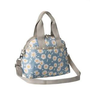 LeSportsac Classic Collection York Satchel Crossbody in Daisy Petals NWT