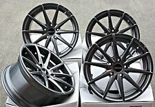 "18"" Cerchi in lega Cruize XR1 GM Multi Spoke deep concave leghe Gunmetal 18 in (ca. 45.72 cm)"