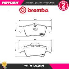 P50052 Kit pastiglie freno a disco post.Mercedes-Benz (MARCA-BREMBO)
