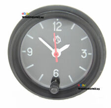 Car Dashboard Clock 12v Automotive Black Bezel Backlight LED Light Bulb Set