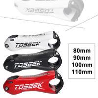 Details about  /TOSEEK Carbon Fiber Bicycle Stem ±10° Road Bike MTB Handlebar Stem 31.8*80-110mm