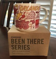"STARBUCKS 14 fl ozs, BEEN THERE SERIES collectors mug ""Orlando""  $32"