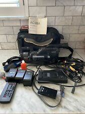 Sony Video 8 Handycam CCD-F501 With Battery, Charger, Case ++ Camcorder