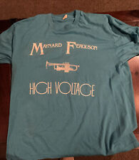 Rare Vintage 80's Maynard Ferguson High Voltage T-shirt Xl