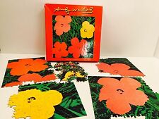 Vintage Andy Warhol Jigsaw Puzzle Flowers 550 pieces Complete!