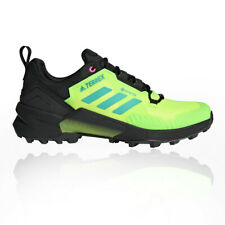 adidas Mens Terrex Swift R3 GORE-TEX Walking Shoes Black Yellow Sports Outdoors