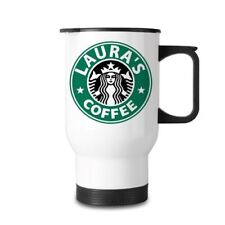 Starbucks Inspired Personalised Mug WHITE
