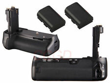 Battery Grip Pack for Canon EOS 6D DSLR Camera + 2 x LP-E6 Battery as BG-E13