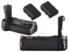 2 x Decoded LP-E6 Battery + Battery Grip Holder for Canon EOS 6D DSLR as BG-E13