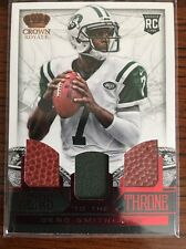 2013 Crown Royale Heirs to the Throne Trios Materials #10 Geno Smith Rc 28/99