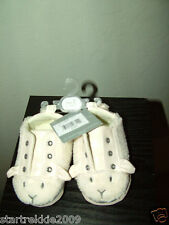 First Impression Little Lamb Baby Unisex Crib Shoes, Sz.3/6-9 Months(US).NWT