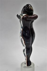 The Embrace Murano glass, signed